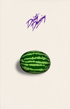 Dirty Dancing Poster // Watermelon // Giclee by DapperDragonArts