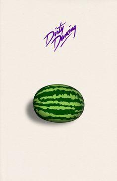 Dirty Dancing Poster // Watermelon // Giclee by DapperDragonArts