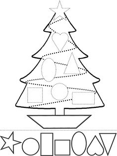 Fun educational christmas activities children printable learning toddlers shapes and colors worksheet free esl worksheets made Christmas Tree Cutting, Noel Christmas, Christmas Crafts For Kids, Christmas Projects, Winter Christmas, Christmas Themes, Holiday Crafts, Holiday Fun, Christmas Events