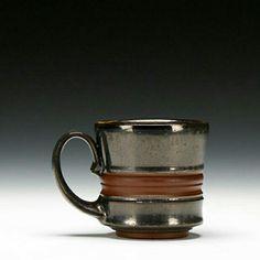 Thrown Pottery, Pottery Mugs, Ceramic Pottery, Glass Ceramic, Ceramic Cups, Ceramic Art, Pottery Designs, Pottery Ideas, Ceramic Glaze Recipes