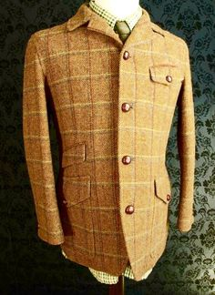 beautiful men's jacket with great details