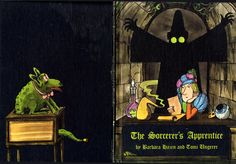 The Sorceror's Apprentice by Barbara Hazen, illustrated by Tomi Ungerer