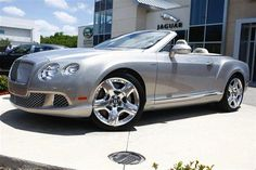 2013 Bentley ContinentalGTC Base AWD 2dr Convertible Convertible 2 Doors Extreme Silver for sale in Naples, FL Source: http://www.usedcarsgroup.com/used-bentley-for-sale-in-naples-fl