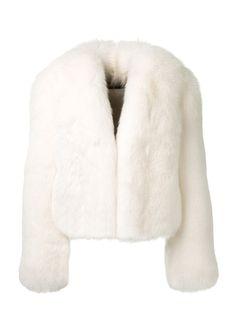 Alexandre Vauthier Fur & shearling :: Alexandre Vauthier white fox fur jacket | Montaigne Market