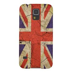 Cool Grunge Union Jack English Flag Samsung Galaxy S5 phone case, also available for iPhone, iPod etc.