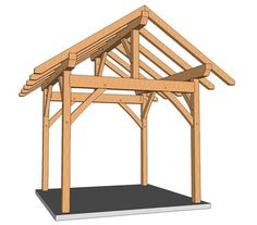 12x16 Pavilion Plans | DIY in 2019 | Gazebo plans, Pergola