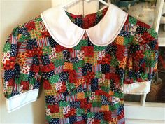 Handmade Patchwork Dress by lishyloo on Etsy, $12.00