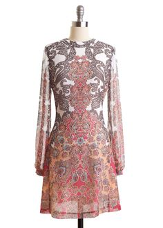 Pretty in Paisley Tunic Dress  #alishopspinfest