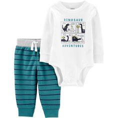 Carter/'s Baby Boy Bear Cubs Team Grandpa Bodysuit Pants Set NWT 6 /& 12 Months