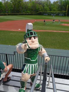 McLane Baseball Stadium at Michigan State University (Michigan St vs Northwestern 2011)  - East Lansing, MI by nelsensc, via Flickr