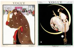 Vogue covers from 1920 and 1917