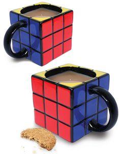 Magic cube mug