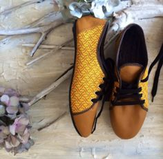 Handcrafted shoes and accessories made from iconic South African shweshwe fabric and leather. African Design, Ankara, Fabrics, Crafting, Lace, Shoes, Tejidos, Zapatos, Shoes Outlet