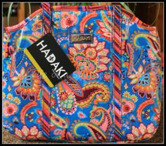 Hadaki's Ana Insulated Lunch Tote in Cassandra Paisley {Review}