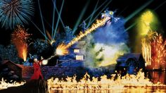 Fantasmic show.. My favorite thing in the whole world!!