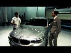 #BMW at the Geneva Motor Show 2013. Have a look at the BMW 3 Series GT at the Geneva Motor Show 2013 together with Bruno Spengler, the racing driver who won the 2012 DTM Drivers' Championship. He's talking to Karim Habib, Head of BMW Design.