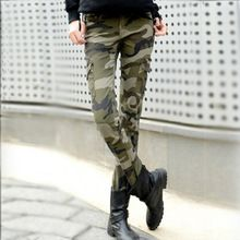 2015 fashion camo skinny jeans woman camouflage jeans slim plus size pencil jean femme pantalones vaqueros mujer(China (Mainland))