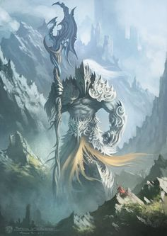 https://www.pinterest.com/spockj22/ Protector Of the Ancients by draken4o on deviantART