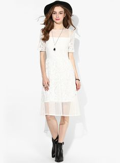 Buy Miss Selfridge White Colored Solid Shift Dress Online - 2797741 - Jabong Best Online Fashion Stores, Online Shopping Sites, Lakme Fashion Week, Buy Shoes, Shoe Brands, Miss Selfridge, White Dress, India, Clothes For Women
