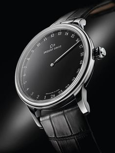 The Jaquet Droz Grande Heure Onyx @DestinationMars