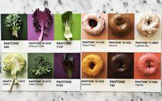 Цифровой мартеколог, фотограф и фуд-стилист Люсия Литман сопоставила продукты питания с различными оттенками цветовой...