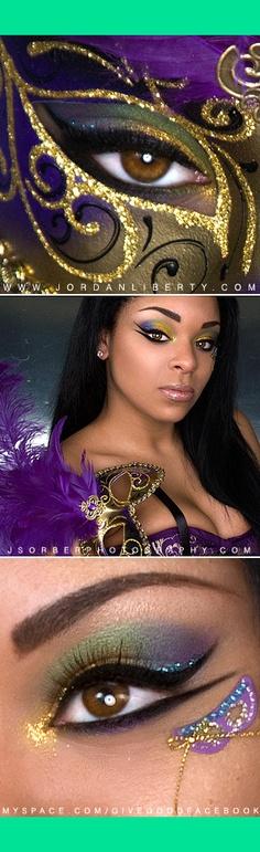 Mardi Gras | Jordan L.'s (givegoodface) Photo | Beautylish