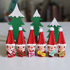 Art Activities For Kids, Art For Kids, Diy And Crafts, Crafts For Kids, Christmas Crafts, Xmas, Christmas Ornaments, Christmas Feeling, Wooden Dolls