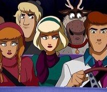 Frozen as the mystery gang