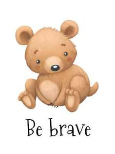 Kids Poster, Poster On, Brave, Teddy Bear, Bears, Event Posters, Children