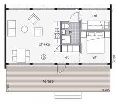 Kontio Glasshouse floorplan
