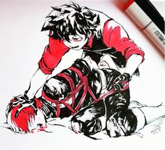 BNHA Izuku (Villain), Todoroki