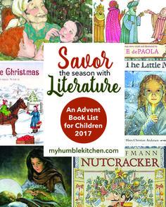 An Advent Book List for Children, 2017   myhumblekitchen.com