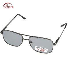 1fdb4591426 SCOBER  Polarized Sunglasses Men Brand HD Polaroid Lens Driving Sunglasses  Vintage Male Google Eye