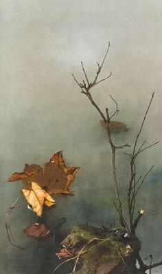Kriegel, Willy (Dresden 1901 - 1966 Starnberg)Herbststilleben. Aquarell u. Gouache auf Karton auf Sperrholz montiert. 885 x 536 mm