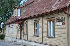 The house of Peter the Great in Haapsalu, Estonia.