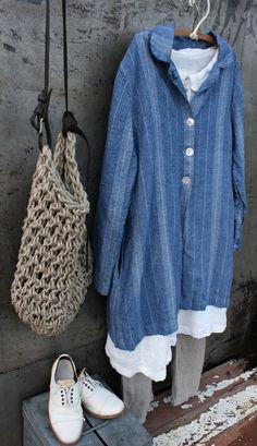 Linen Jacket MegbyDesign