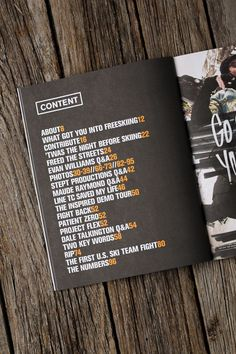 Not a fan of this layout for the table of content page, use of colour, and page design. Newschoolers Yearbook by Crésus , via Behance Ppt Design, Page Layout Design, Buch Design, Booklet Design, Magazine Layout Design, Graphic Design, Magazine Layouts, Yearbook Pages, Yearbook Layouts