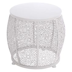 UMA Enterprises All Weather Iron Drum Accent Table - Even if you can't keep a beat, the UMA Enterprises All Weather Iron Drum Accent Table will set the tone for your living space. Indoors or out&...