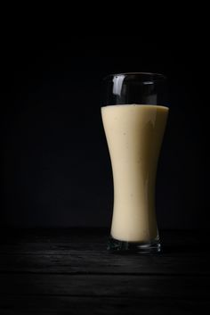 Vegan Banana Smoothie Recipe - Simple & Quick Vegan Food to go!  From It's Bananageddon - Lush food photography too, no?!