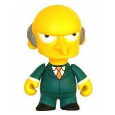 Kidrobot the Simpsons Series 1 Figure - Mr. Burns $29.99