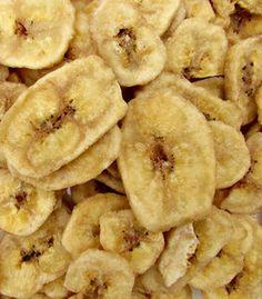 Recept: Bananenchips Snacks Für Party, Lunch Snacks, Vegan Snacks, Healthy Treats, Snack Recipes, Healthy Recipes, Vegan Chips, Good Food, Yummy Food