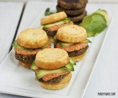 Vegan burgers! Soy free. Gluten Free. Dairy Free