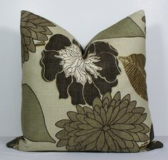 Decorative Pillow Cover BOTH SIDES 22 X Throw By