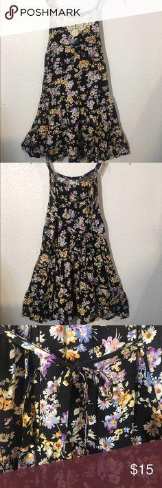 Girls flower dress Flowery flowy spaghetti strap dress! Great for summer! Justice Dresses