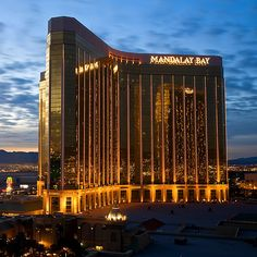 Mandalay Bay.....Cannot wait to go back in October for our 9 year anniversary :)