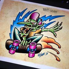 Today's theme for #mabsdrawlloweenclub is #goblin  - Looking for an artist to turn your idea in to a kickass tattoo? Let's talk. Get in touch a jesper@bram.tattoo or direct message. #bramtattoo #jesperbram #tatovering #tatovør #tatoveringer #dansktatovørlaug #copenhagentattoo