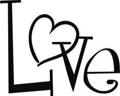Simple Love Heart Drawing - ClipArt Best