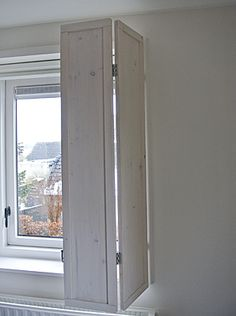 Houten binnenluiken   www.no-52bijzonderwonen.nl