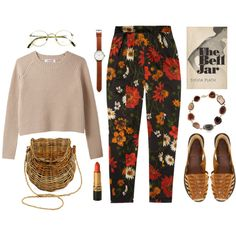 cucurrucucu paloma by celluloid on Polyvore featuring polyvore, fashion, style, Jil Sander, Ravel, Kimberly McDonald, Tsovet and clothing
