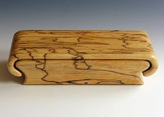 Spalted Maple Box by WoodBoxDesign on Etsy:
